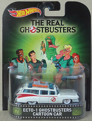 Hot Wheels Premium - Ghostbusters ECTO-1 1984 Cadillac DeVille - Real Riders
