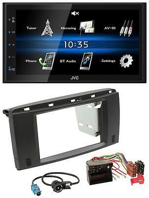 JVC USB 2DIN Bluetooth MP3 AUX Autoradio für Mercedes R-Klasse 2006-2012