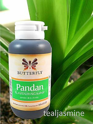 Pandan Paste, Pandanus Extract or Screwpine Paste 2 fl.oz. BUTTERFLY