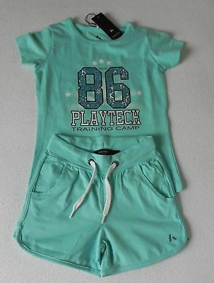 Name It PlayTech Funktion Sportset 2tlg. T-Shirt. Shorts Gr.116 o. 122-128 Neu  online kaufen