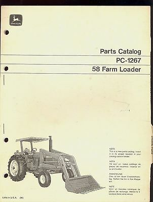 John Deere 58 Loader | Owner's Guide to Business and