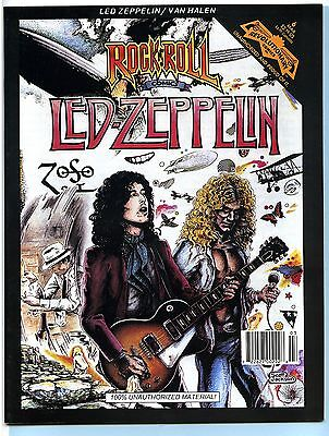 LED ZEPPELIN 1991 Revolutionary Rock Comic Book Magazine; March 91; 1st Print EX