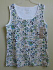 White Stag Women's Floral Tank Tops