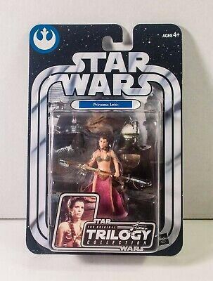 STAR WARS Princess Leia SLAVE GIRL OTC Original Trilogy #33 2004 Figure NIP
