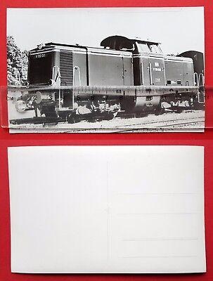 Eisenbahn Foto AK von Bellingrodt DB Diesellok V 100 001     ( 24734