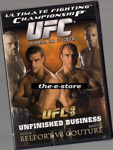 UFC - Ultimate Fighting Championship - DVD - 49 Unfinished.