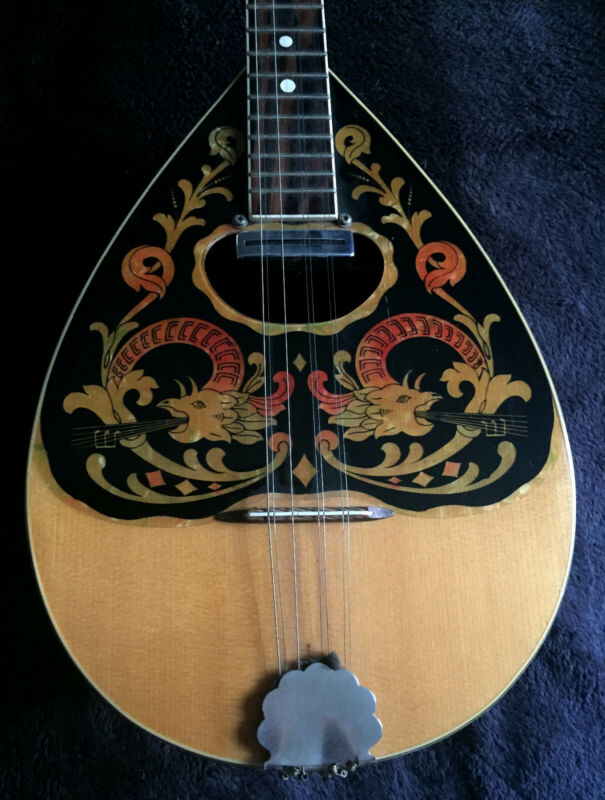 Electric Bouzouki Greek Rare Aetna Vintage