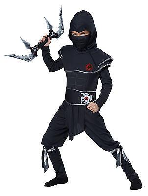 Japanese Ninja Warrior Stealth Ninja Samurai Child Costume