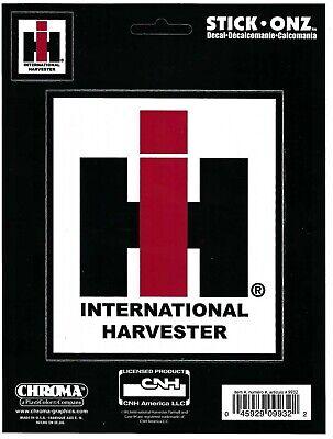 International Harvester Decal Sticker Truck Tractor Farm Backhoe