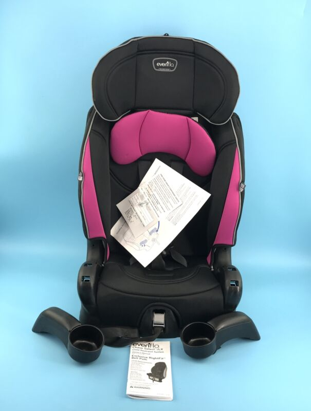 Evenflo Chase Sport Harnessed Booster Seat Jayden Pink #NO5901