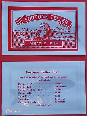 24 Fortune teller magic fish -Great stocking stuffer and party favor! - Fishing Party Supplies
