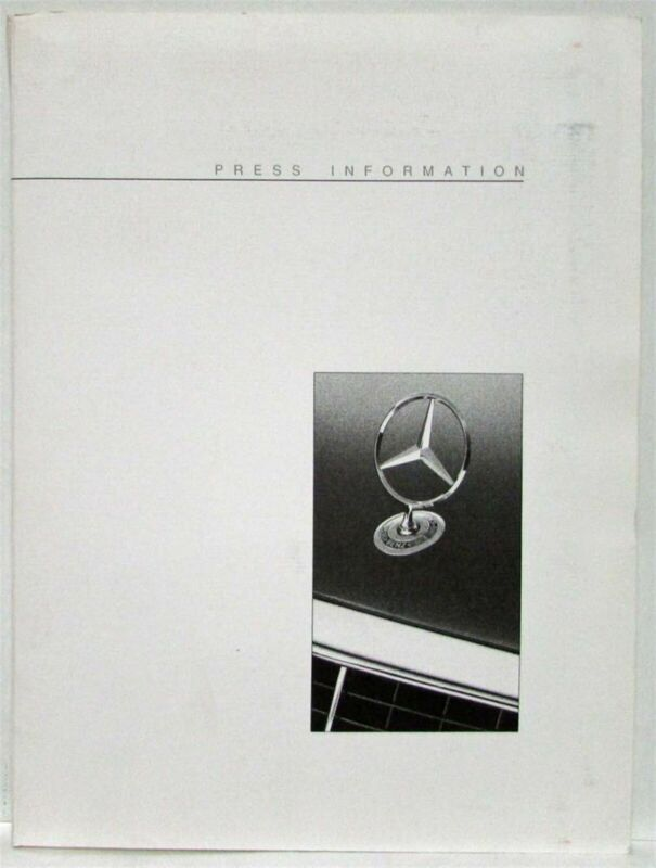 1993 Mercedes-Benz Press Kit