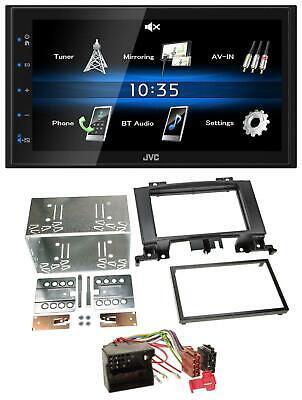 JVC USB 2DIN Bluetooth MP3 AUX Autoradio für Mercedes Sprinter W906 ab 06 Rubber