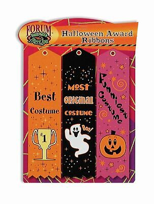 3 Halloween Party Award Ribbons Best Costume Contest Best Funniest Most Original](Best Halloween Party Costumes)