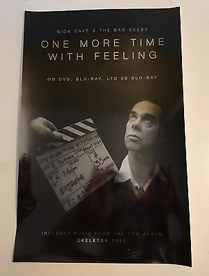 """NICK CAVE & The Bad Seeds PROMO 11""""x17"""" Poster for Skeleton Tree Album NM"""
