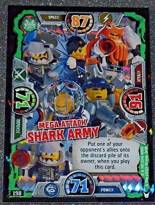 LEGO NINJAGO series 3 Trading Card Special 198 SHARK ARMY