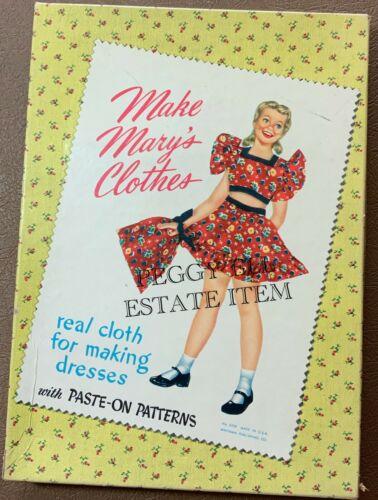 """1949 WHITMAN PUBLISHING """"MAKE MARY"""