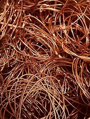 5lbs Of Bare Bright Scrap Copper Wire Scrap Refine Art Craft Diy Recycle