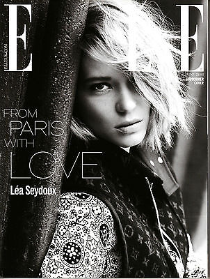 ELLE UK June 2016 Ltd Edit Subscribers LEA SEYDOUX Ginta Lapina MARC JACOBS @New