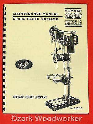 Buffalo No. 22 Drill Press Operator Parts Manual 0106