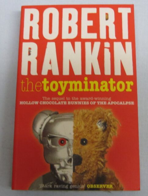 The Toyminator by Robert Rankin (pbk)