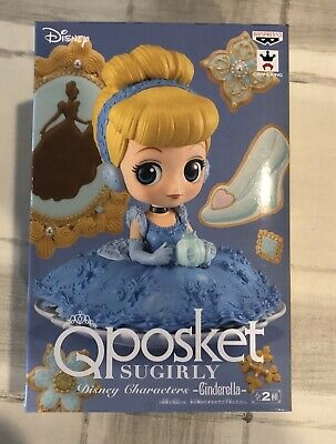 Q posket SUGIRLY Disney Cinderella Version A Qposket BANPRESTO Japan Import