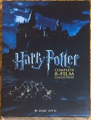 New Sealed Harry Potter Complete 8-Film Collection (DVD, 2011, 8-Disc Set)