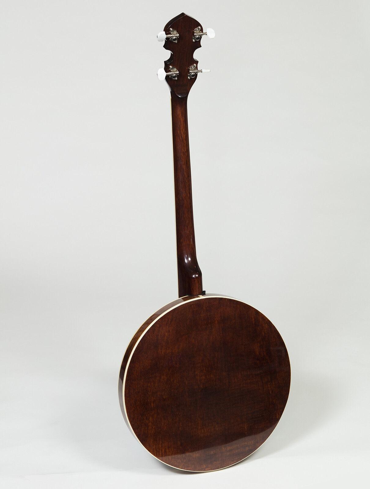 New Heartland Banjo, 5 String Banjo, 4 String tenor Banjo, Tenor Banjo With Case