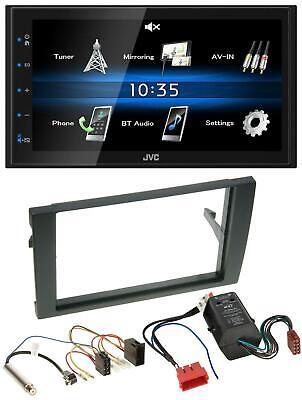 JVC 2din Bluetooth mp3 aux USB autoradio para audi a4 b6 b7 00-08 Bose aktivsyste