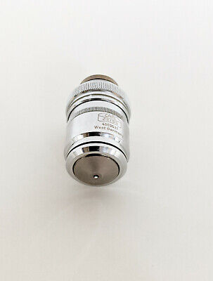 Zeiss Planapo 401.0 Oil Microscope Objective 40x 160mm Plan Apochromat