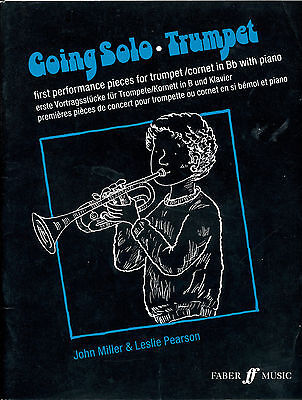 Going Solo (Trumpet) By John Miller and Leslie Pearson