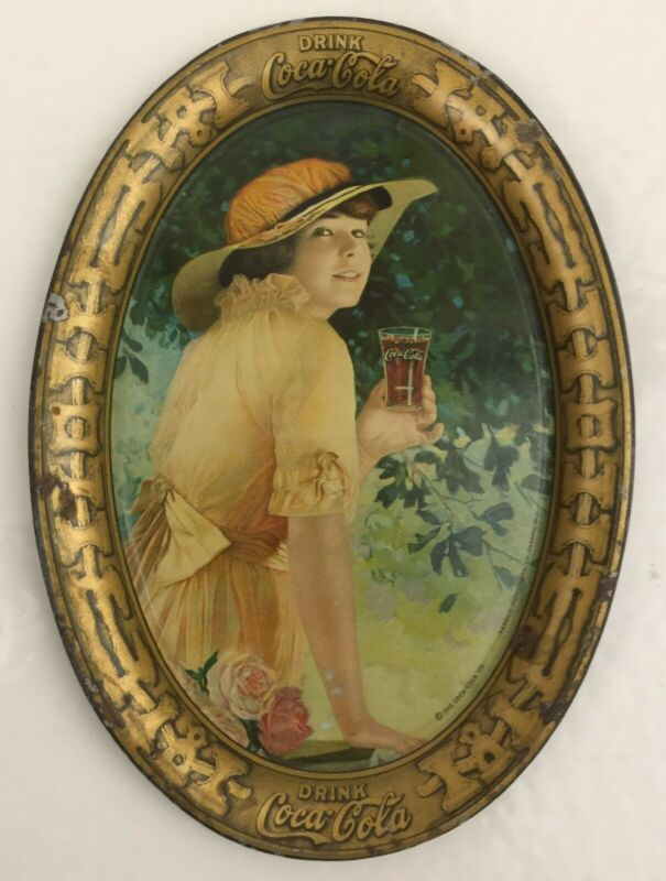 Vintage 1916 Coca Cola Tip Tray