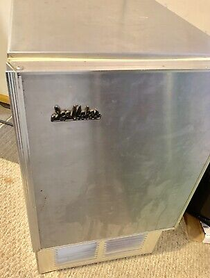Uline Ice Maker Stainless Steel Rv Boat Under Counter Industrial