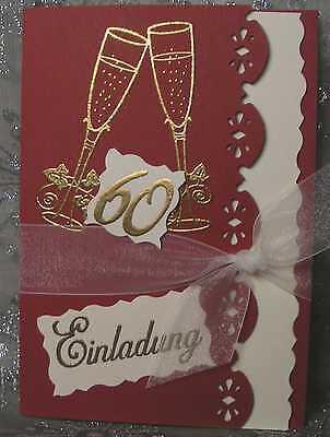 Einladungskarten / Einladung  Geburtstag 30-40-50-60-70