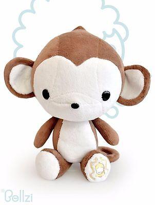 Bellzi Cute Monkey Stuffed Animal Plush Brand New - Cute Monkey Stuffed Animal
