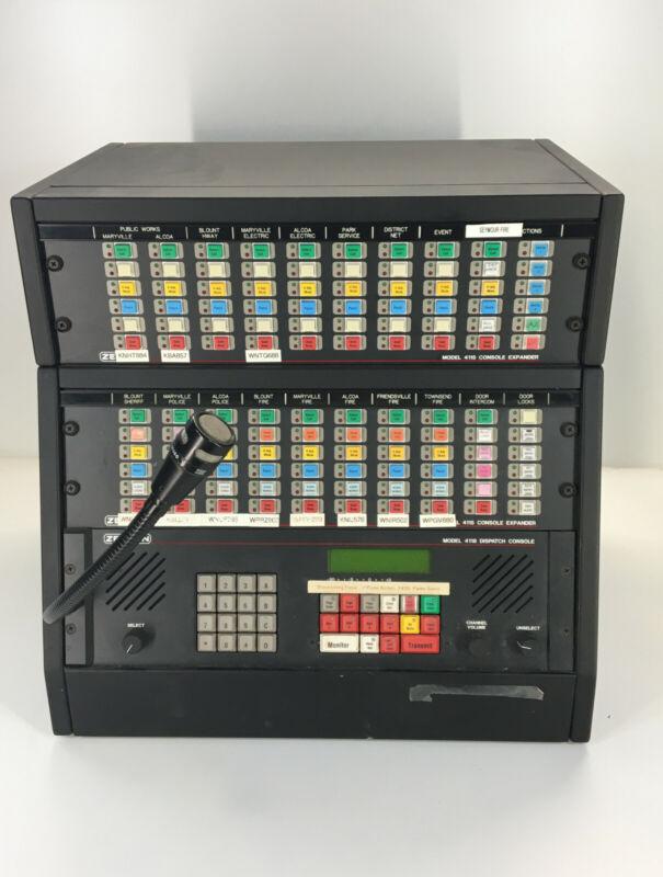 Zetron Model 4118 Dispatch Console 4115 Console Expander