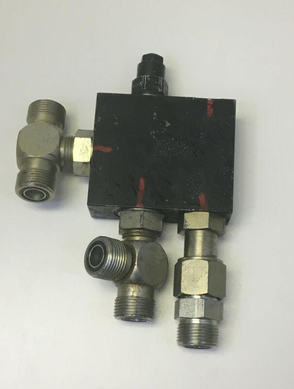 Sauer Danfoss 158B6409 KV21013 control valve block