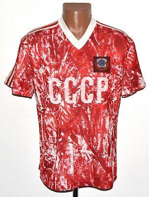 USSR NATIONAL TEAM 1988/1989/1990 HOME FOOTBALL SHIRT JERSEY ADIDAS SIZE M image