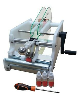 LABELROO Small Bottle Labelling Machine – PET Bottle Label Applicator Labeling
