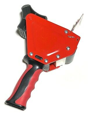 Red Heavy Duty 2 Scotch Tape Gun Dispenser Packing Shipping Grip Sealing Cutter