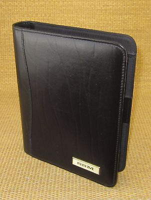Classicdesk 1 Rings Black Leather Day-timer Open Plannerbinder Franklin 99