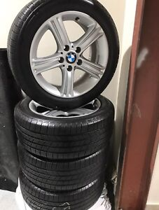BMW 328 2013 Mags+like new michllin summer tire