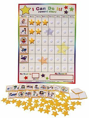 I Can Do It Reward Chart  Chore  Behavior  Incentive  Reward  Job  Potty  Chart