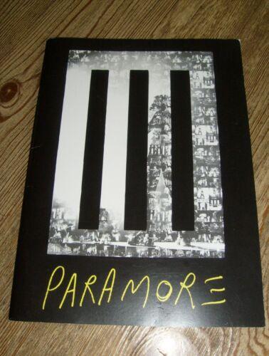 Paramore Concert Tour Book Program 2014 Hayley Williams