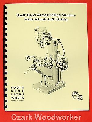 8535 Vertical Mill Machine Sensible Clausing 8530 Instructions & Parts Manual