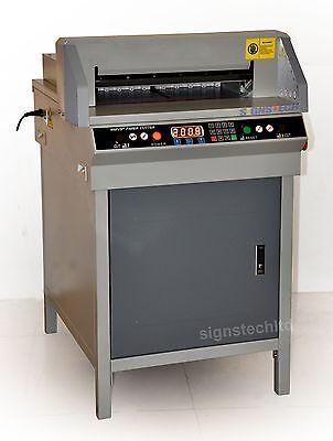 450mm Paper Guillotine Cutter Cutting Machine17.7 Electric 2-year Warranty