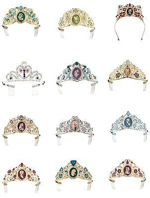 Disney Store Princess Tiara Crown Costume Accessory Metal Nwt One Size U Choose