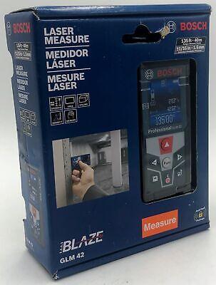 Bosch Blaze 135 Ft. Laser Measure With Full-color Display-000346490749