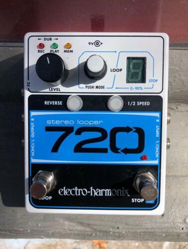 Electro Harmonix Stereo Looper 720 With Power Supply