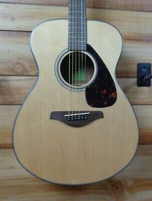 New Yamaha FS800 Folk Acoustic Guitar Natural Solid Spruce Top